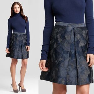 NWT Elie Tahari Hena Skirt Size 14 Pleated A-Line